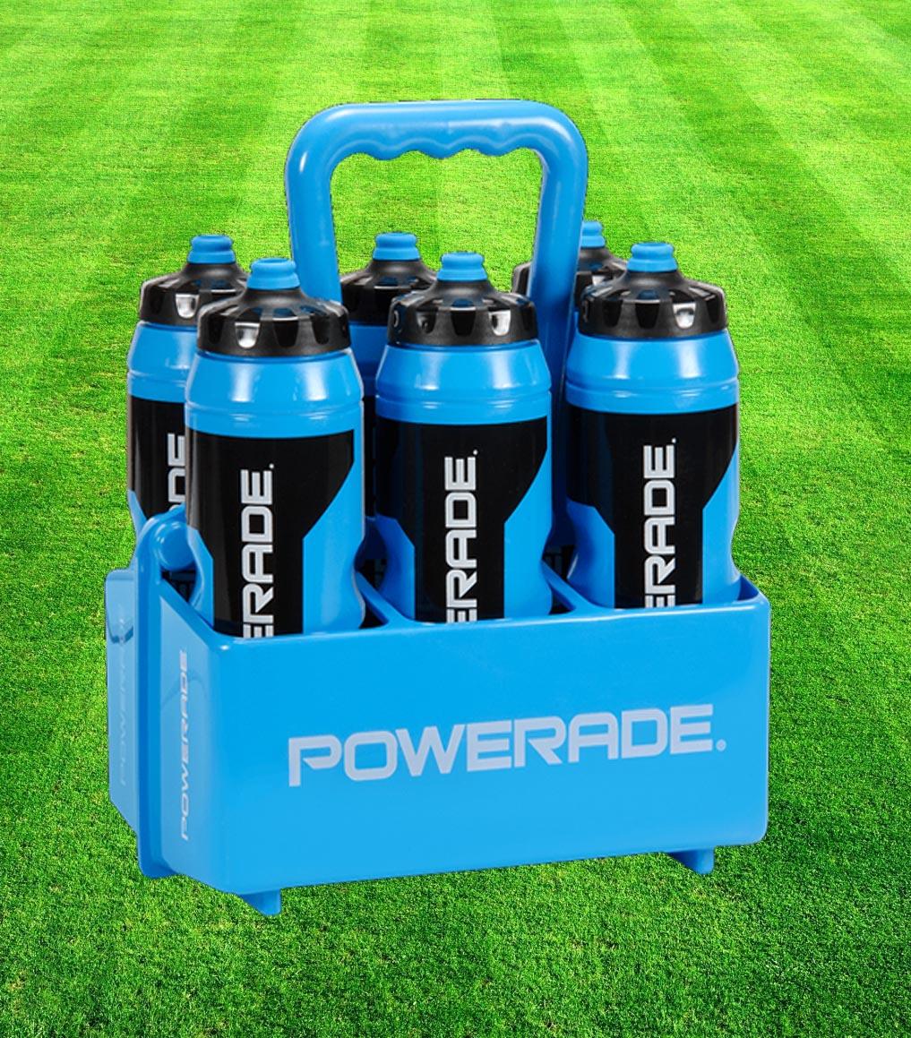 4 PACK - Powerade Sport Bottles & Carrier Set ($60.00/each ...