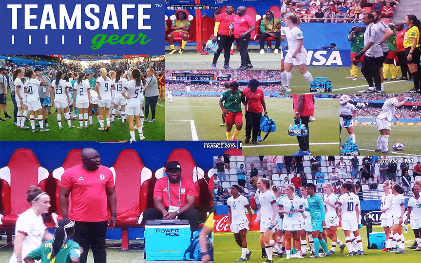 TeamSafe Gear supplies sideline hydration gear for FIFA Women's 2019 World Cup in France